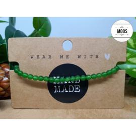 Powerbeadsbandje - Jade