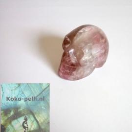 Fluoriet schedel 70 gram