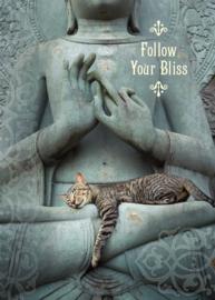 Follow Your Bliss dubbele kaart
