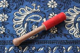 Klopper hout - leer 25 mm
