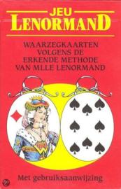 Mlle Lenormand waarzegkaarten-pocket