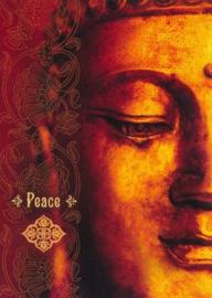 Peace dubbele kaart