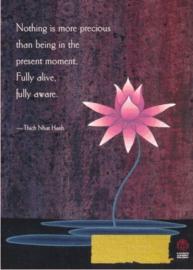 Ascending Lotus dubbele kaart
