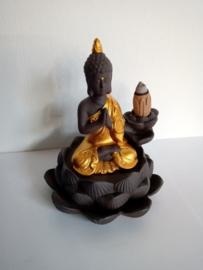Mediterende monnik backflow brander