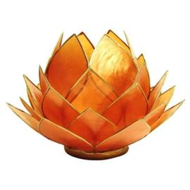 Lotus sfeerlicht oranje