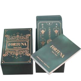 Fortuna Tarot Deck Emerald - Maria Praena