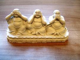 Boeddha horen-zien-zwijgen