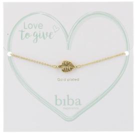 Biba armband minimalistisch  leaf