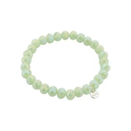Biba armband crystal groen