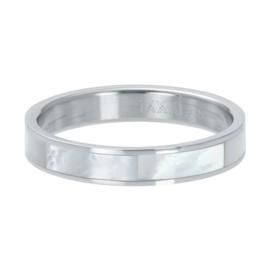 IXXXI Vulring Shell cover zilverkleurig 4 mm