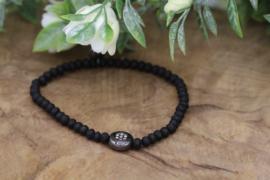 Biba armband crystal special  zwart