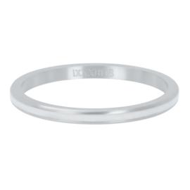 IXXXI Vulring  Line White zilverkleurig 2mm
