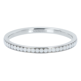 Ixxxi-jewelry  vulring  White stone zilverkleurig 2mm