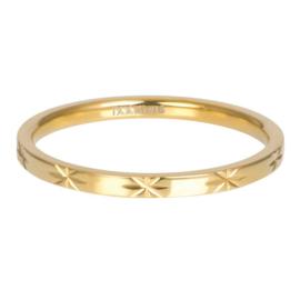 iXXXi Vulring Sterre goudkleurig 2 mm