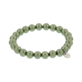 Biba armband glasparel groen