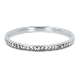Ixxxi-jewelry  vulring  Zirconia crystal zilverkleurig 2mm
