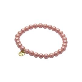 Biba armband glasparel roze