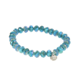 Biba armband crystal blauw