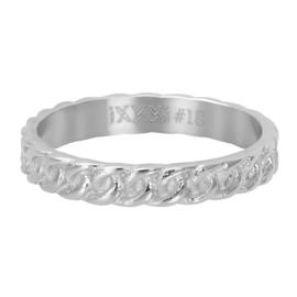 IXXXI Vulring Curb chain zilverkleurig 4 mm