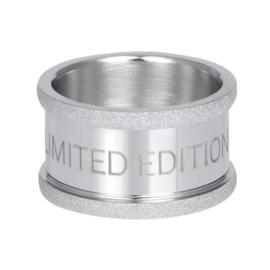 iXXXi basisring limited edition zilverkleurig 12 mm