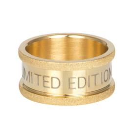 Basisring Limited edition goudkleurig 10 mm