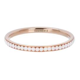 Ixxxi-jewelry  vulring  White stone rose 2mm