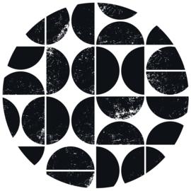 Muurcirkel   Abstract scandinavisch