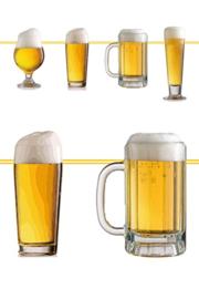 Bier Dekoration