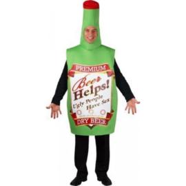 Bierflasche Kostüm premium
