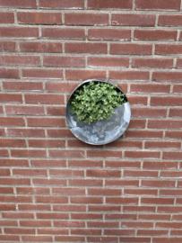 Zinken planten bak model Rondo 32x32x10.5cm