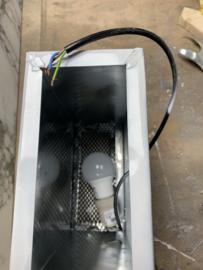 Wandlamp strandcabine up/down  30x23,5x12cm. (MOMENTEEL UITVERKOCHT, wel te reserveren)