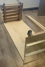 Tafel met Zink op houten pallets op maat
