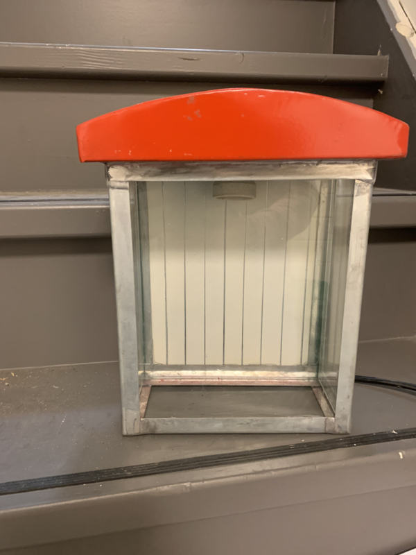 Wandlamp  strandcabine 30x23,5x12cm.