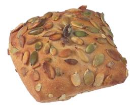 Broodje met pompoenpitten