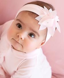 Haarband Roze Bloem