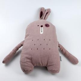 Knuffelkussen konijn
