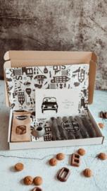 Brievenbus pakket Sinterklaas met Pepernoten
