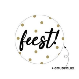 Feest! + Goudfolie