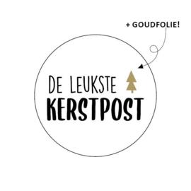 De leukste KERSTPOST + Goudfolie