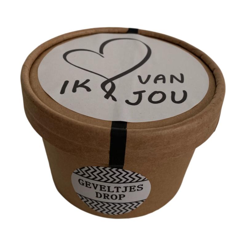 Ik hou van jou! Snoeppot