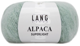 Alpaca Superlight  - 0092 Mintgroen