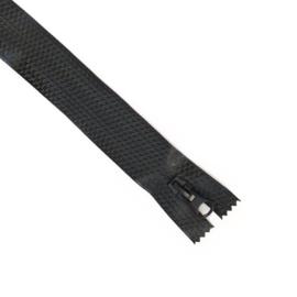 Waterdichte rits zwart deelbaar 70cm