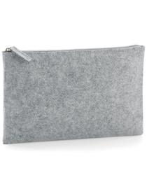 Felt Accessory Pouch - Grey Melange