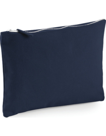 Canvas Accessory Pouch - Navy - S