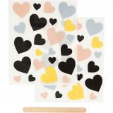 Rub-on Sticker, harten