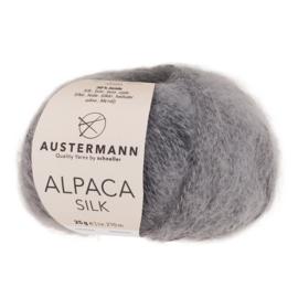 Alpaca Silk - Rauchgrau