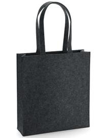 Felt Bag - Charcoal Melange