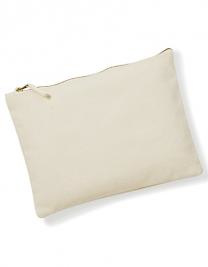 Canvas Accessory Pouch - Natural - S