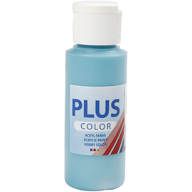 Plus Color acrylverf, turquoise, 60ml
