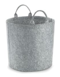 Felt Trug - Grey Melange - M